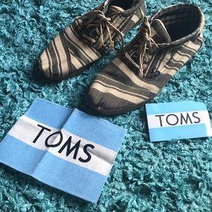 Toms hightop sneaker